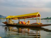 Dal lake at srinagar