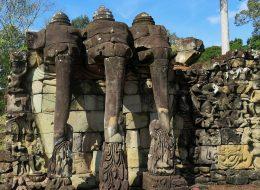 Elephant Terrace at cambodia