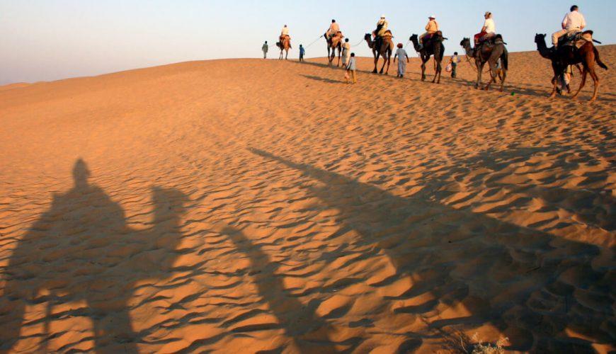 Thar Khuri desert