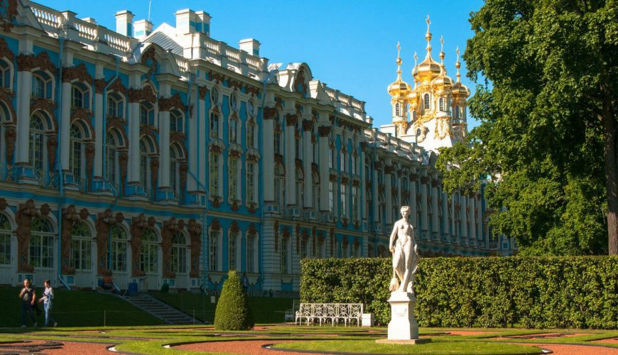 CATHERINE PALACE RUSSIA tour package