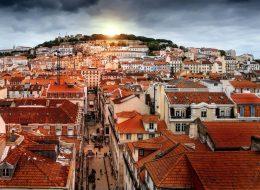 Lisbon Retouch Sunset