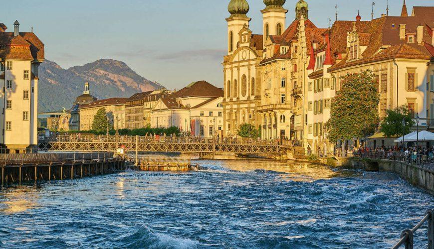 Zurich Limmath River