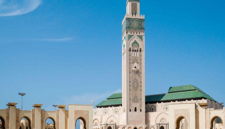Mosque casablanca morocco