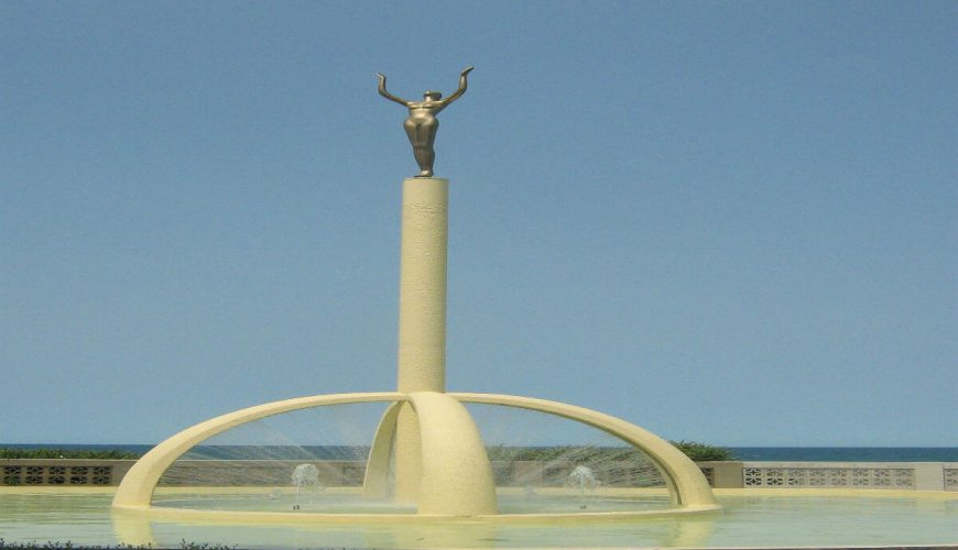 Napier-statue