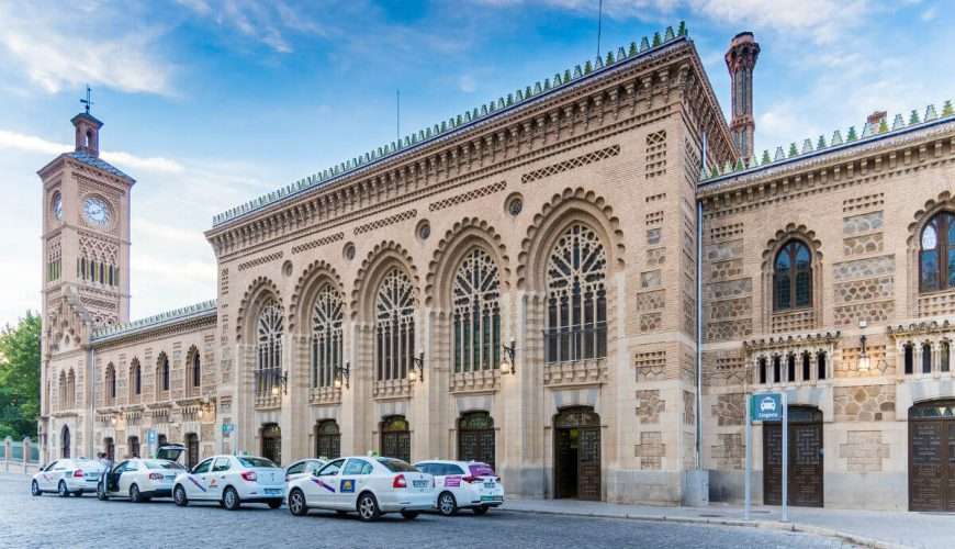 Toledo Train Station Spain