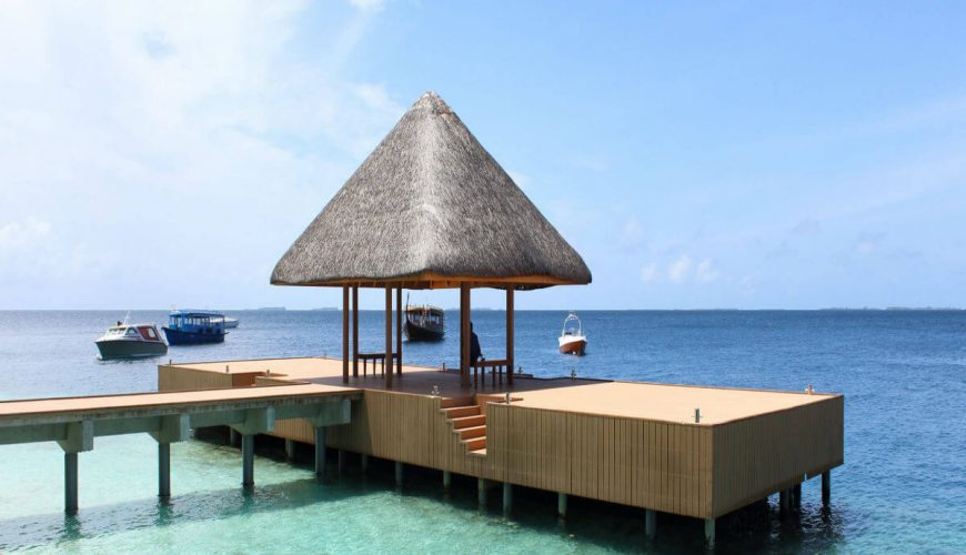 beach sea water villa Maldives
