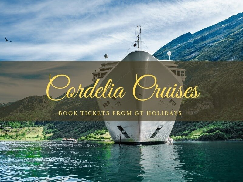 Cordelia Cruises Book Tickets